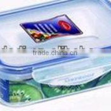 plastic kitchen plastic oblong food storage container 300ml