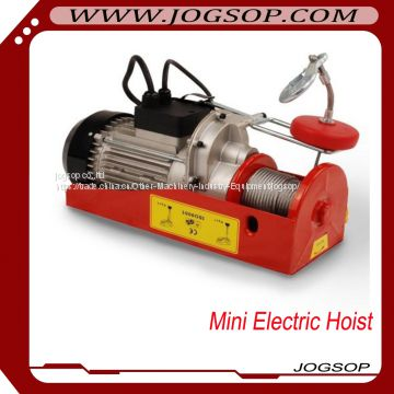 Small Electric Winch, Mini Hoist with 220v of Electric Hoist