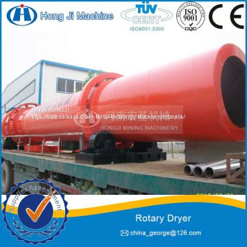 15-18t/h China High Efficient Dry-Mixed Mortar Sand Rotary Dryer from DingLi Factory