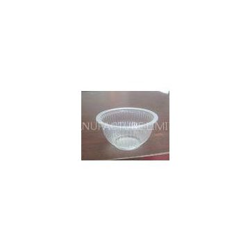 Plastic Disposable Dessert Cups With Round Bowl 200ml 9.5x5.0cm