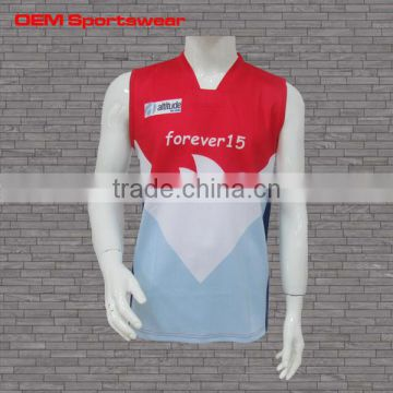 b11cc4e5ebd Latest color red design sleeveless wholesale youth football jersey of Other  sportswear from China Suppliers - 157185664