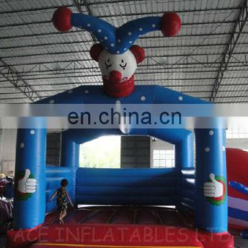 return of the joker theme inflatable bouncer,jumping castle customized with best quality, changeable colors and themes