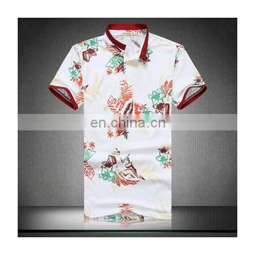 Printed T Shirts Polo Style Wholesale