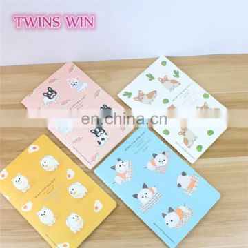 Alibaba website cheap bulk office diaries stationery wholesale logo custom printed cartoon paper notebook diary made in china