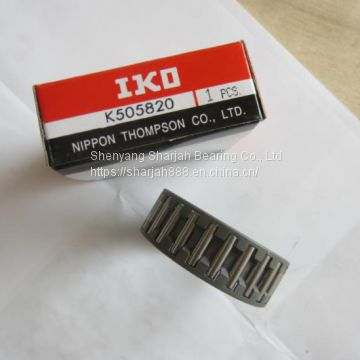 IKO K505820 Bearing size 505820 mm Radial Needle Roller and Cage Assemblies K505820 Bearings
