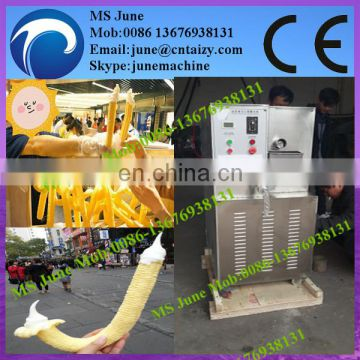 New design Automatic Stainless steel Hollow tube Ice cream used Pop corn snack machine in cheap price