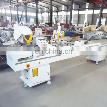PVC windows making machine / Double blades sawing machinery