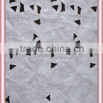 Factory price with high quality beautiful lace for dress 100% polyester satin lace for clothing