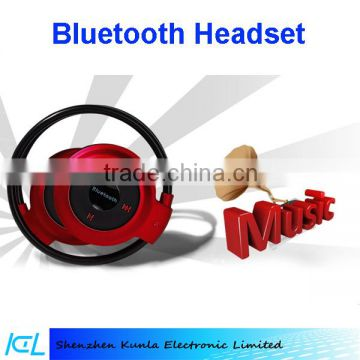 2015 mobile Universal Wireless Stereo Bluetooth Earphone Sport Headset with Built-in Microphone For iPhone Samsung