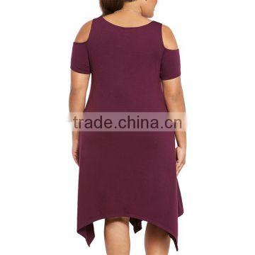 plus size one piece western dresses for fat girls fat women of Plus ...