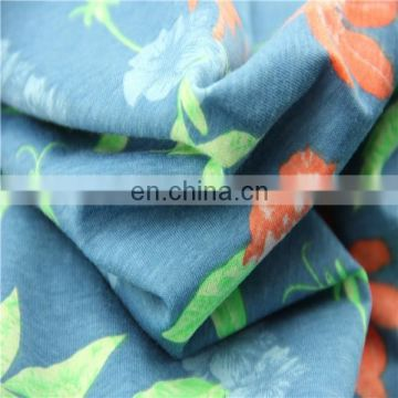 Hot sale CVC 50/50 Printed bedsheet fabric
