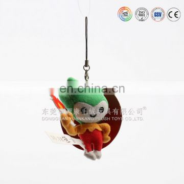 Cute design keychain plush toys, key chain plush toys