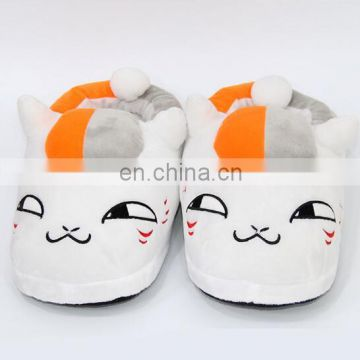 custom cartoon plush slippers for kids plush sneaker shoes custom