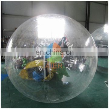 hot sale inflatable water balls/inflatable walking balls with number