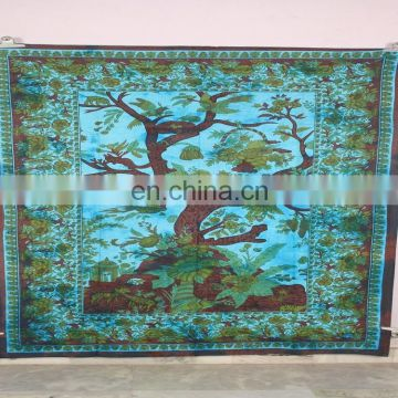 Tree of Life Tapestry Indian Hippie Tapestries Christmas Use Wall Hanging Tapestry
