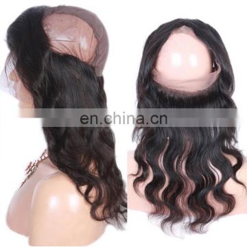 Factory price Lace Band Frontal 360 lace frontal with bundles 360 Lace Frontal Closure