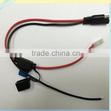 New Red /Black of wire 15A molding fuse Crimp 187 type ... Wiring Molding on