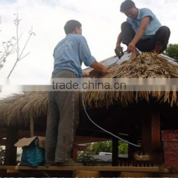 easy install synthetic thatch roof and good quality synthetic thatch roof ,