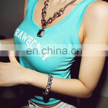 high quality all match 100%conton sexy ladies camisole