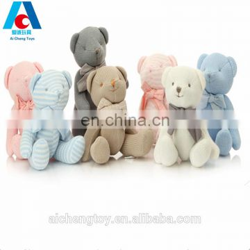 soft plush hooded sweatshirt Parent-child teddy bear toys