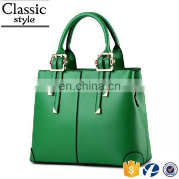 CR best selling products in europe lady fashion office bag sky blue pu leather handbag