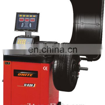 U-828 hot-sell auto wheel balancing system machine