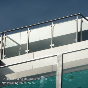 Glass Baluster Deck Railing for Balcony