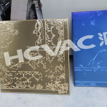 Ceramic tiles PVD vacuum coating machine, Ceramic gold plating machine (HCVAC)