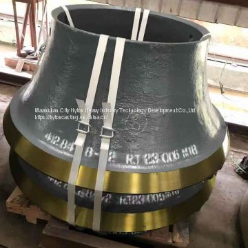 attachment parts head liner bowl liner of high manganese steel suit gp300s metso nordberg cone crusher