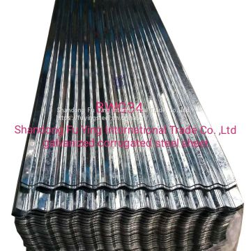 BWG34 Gi corrugated  steel    sheet