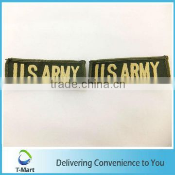 US Army Embroidery Badge/Sticker/patch design woven label for clothings, bags, and garments
