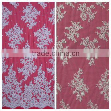 African ladies wedding dresses material guipure lace fabric/Wholesale nigerian latest cord lace/Guipure laces