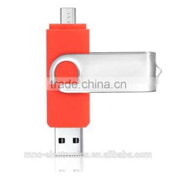 Colorful promotional gift custom logo branded smart phone 8GB, 16GB otg usb flash pen drive memory stick                                                                                                         Supplier's Choice