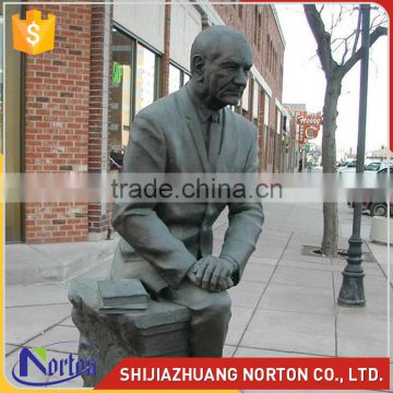 life size bronze self made man statue for sale NTBH-S799X