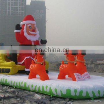 Christmas inflatable toy,Christmas inflatable cartoon,inflatable santa claus and Reindeer