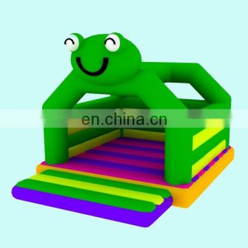 smily frog inflatable bouncer