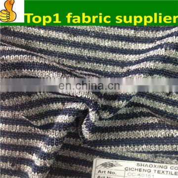 Make-to-order supplier onway Polyester birds eye fabric/jersey fabric/knitted fabric in keqiao