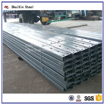 Factory Direct Hot Selling Galvanized Steel C Purlin For Construction