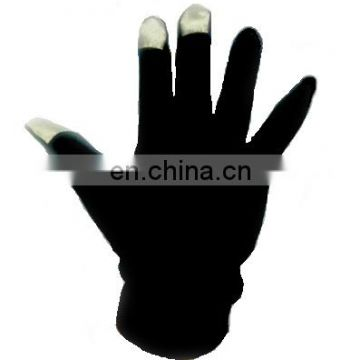 raw silk touchscreen gloves