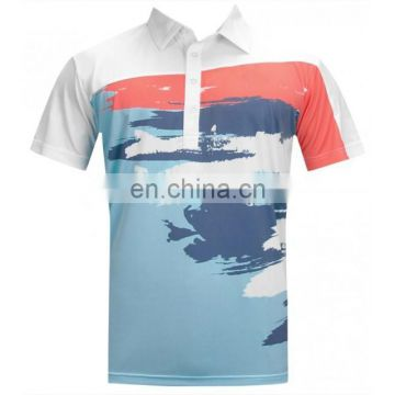 fahion OEM high quality sublimation dri fit golf shirt/golf polo