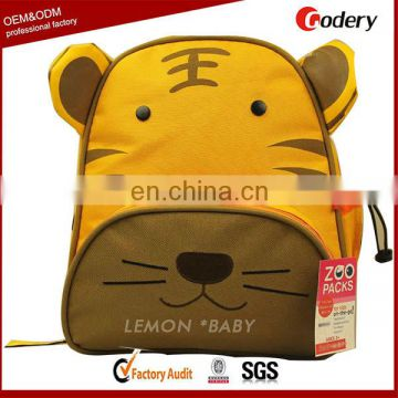New arrival Cute Tiger kindergarten school bag
