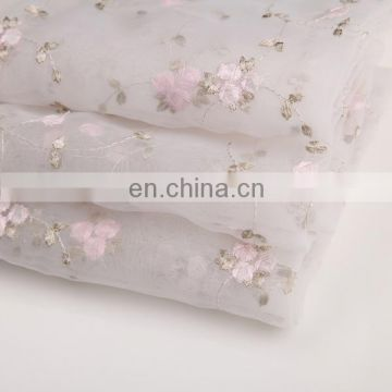 New Products 2015 Innovative Product Chinese Traditional White Embroidered Fabric