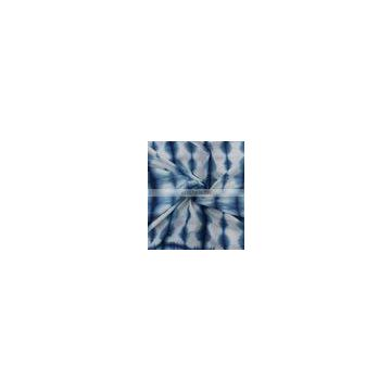 Tye and Dyed fabric, Soft cotton shibori fabric