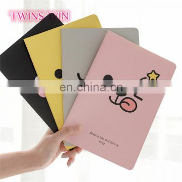 Germany 2018 hotsale school stationery items bulk cheap cartoon cute paper plain notebooks for children
