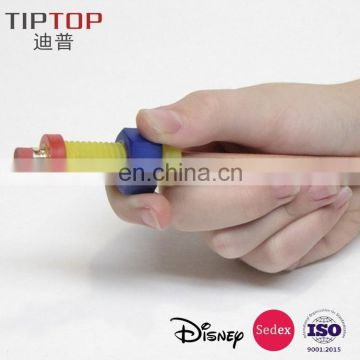 2017 hot selling finger spinner for ADHD kids/fidget spinner pencil topper