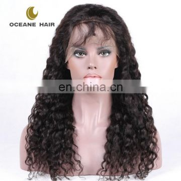 hot sale good quality cheap price wholesale glueless full lace 100% human hair wig