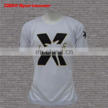 sublimation sports wear t-shirt wholesale