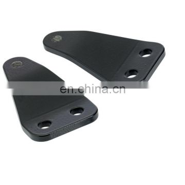 custom powder black large monster craftsman yamaha xs650 mid mount footpeg brackets