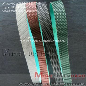Flexible Diamond Belts Diamond sand belt for polishing and grinding Alisa@moresuperhard.com