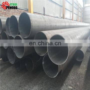 stpg370 astm a106 sch40 large diameter black seamless carbon steel pipe